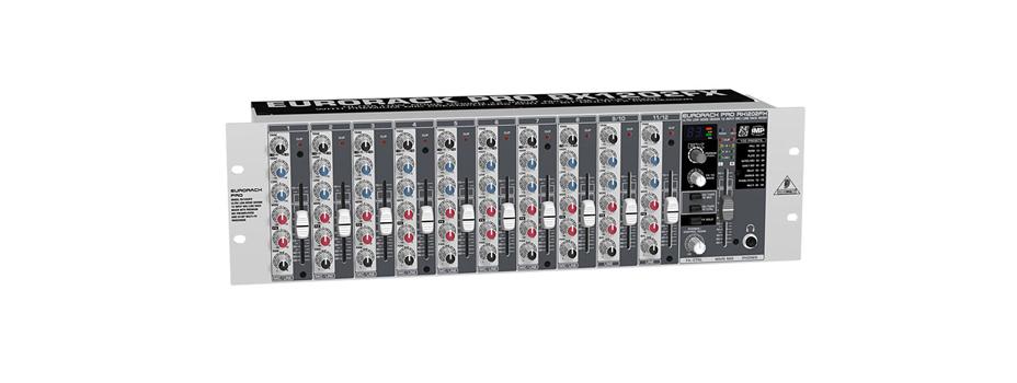 Noleggio Mixer Analogico a Rack 19″ Bheringer RX1202FX.