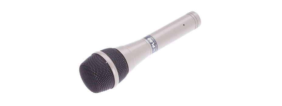 Noleggio Microfoni per Strumenti o per Voce (Gelato) Electro Voice PL80.