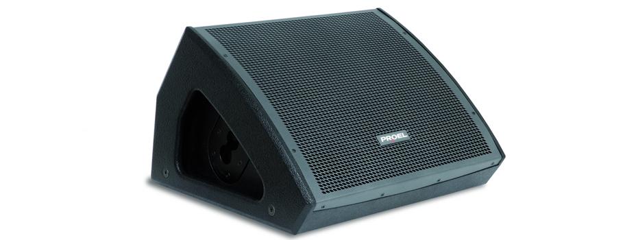 Noleggio Casse Monitor (cassa spia) Proel NET12MA 400 Watt RMS.