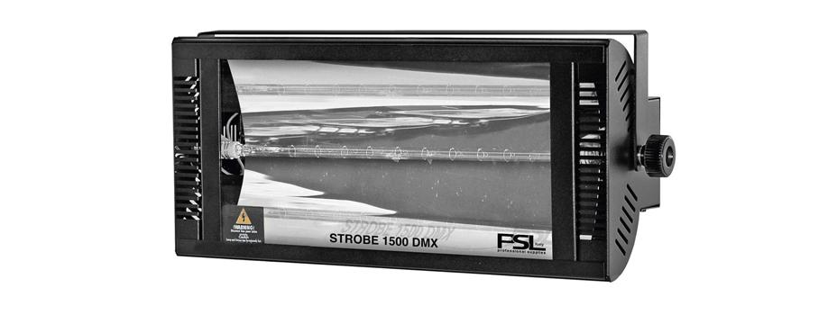 Noleggio Luce Stroboscopica. Potente proiettore strobo controllabile via 2 canali DMX.